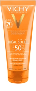 Vichy Idéal Soleil Capital ochranné mléko na tělo a obličej SPF50+