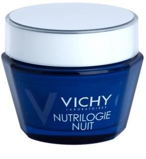 Vichy Nutrilogie éjszakai intenzív krém száraz és nagyon száraz bőrre
