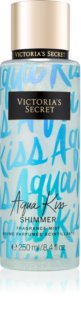 Victoria's Secret Aqua Kiss Shimmer spray corpo da donna