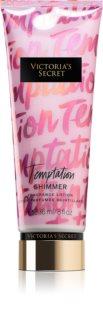 Victoria's Secret Temptation Shimmer leche corporal para mujer 236 ml