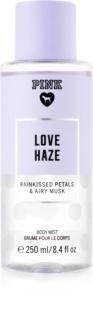 Victoria's Secret PINK Love Haze spray de corpo para mulheres 250 ml