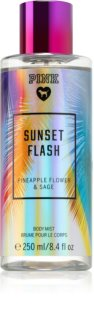 Victoria's Secret PINK Sunset Flash spray corporal para mulheres
