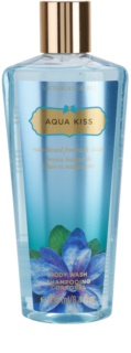 Victoria's Secret Aqua Kiss Rain-kissed Freesia & Daisy gel de ducha para mujer 250 ml