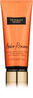 Victoria's Secret Amber Romance tělový krém pro ženy 200 ml