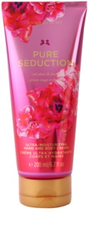 Victoria's Secret Pure Seduction Körpercreme für Damen 200 ml  Red Plum and Freesia