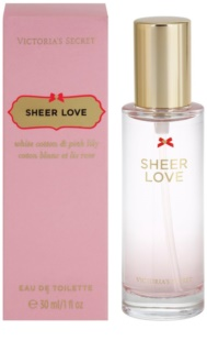 Victoria's Secret Sheer Love eau de toilette nőknek 30 ml