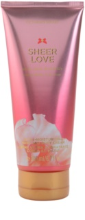 Victoria's Secret Sheer Love White Cotton & Pink Lily Body Cream for Women 200 ml