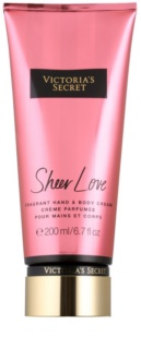 Victoria's Secret Fantasies Sheer Love testkrém nőknek 200 ml