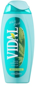 Vidal White Musk gel de duche para mulheres 250 ml
