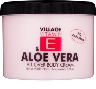 Village Vitamin E Aloe Vera crema corporal