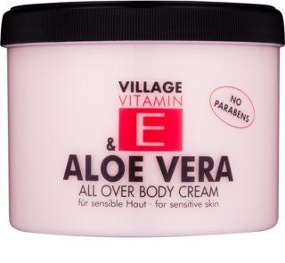 Village Vitamin E Aloe Vera tělový krém