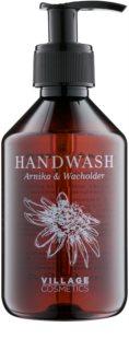 Village Herbal Arnica & Juniper flüssige Seife für die Hände
