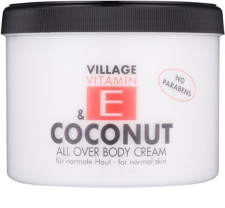 Village Vitamin E Coconut крем за тяло