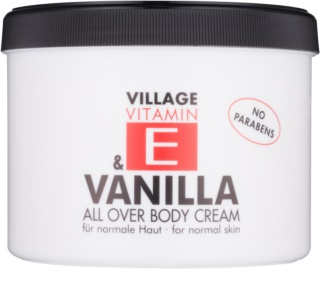 Village Vitamin E Vanilla крем за тяло