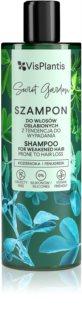 Vis Plantis Herbal Vital Care Fenugreek champô fortificante para o cabelo fraco com tendência a cair