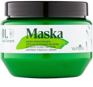 Vis Plantis Basil Element stärkende Maske gegen Haarausfall