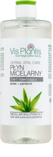 Vis Plantis Herbal Vital Care Aloe Juice & Panthenol woda micelarna 3 w 1