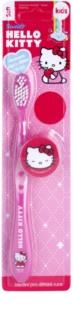 VitalCare Hello Kitty четка за зъби за деца с капачка за пътуване