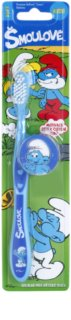 VitalCare The Smurfs Toothbrush for Kids with Travel Cover