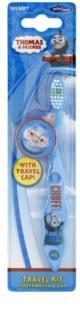 VitalCare Thomas & Friends gyermek fogkefe fedővel gyenge