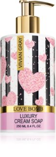 Vivian Gray Love Bomb Cream Liquid Soap