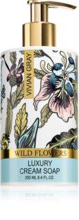Vivian Gray Wild Flowers крем-мило