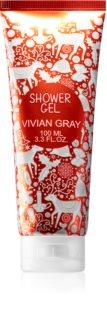 Vivian Gray Red Christmas negovalni gel za prhanje