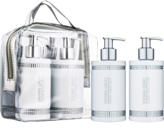 Vivian Gray Crystals White Cosmetic Set III.