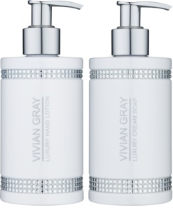 Vivian Gray Crystals White Cosmetic Set II.