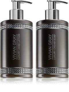 Vivian Gray Grey Crystals lote cosmético VIII.
