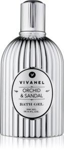Vivian Gray Vivanel Orchid & Sandal gel za prhanje in kopanje