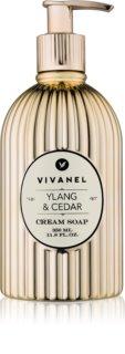 Vivian Gray Vivanel Ylang & Cedar jabón con textura de crema