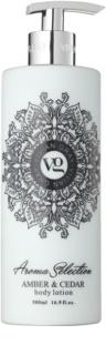 Vivian Gray Aroma Selection Amber & Cedar leche corporal