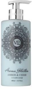 Vivian Gray Aroma Selection Amber & Cedar krémové tekuté mýdlo
