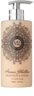 Vivian Gray Aroma Selection Grapefruit & Vetiver Cream Liquid Soap