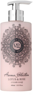 Vivian Gray Aroma Selection Lotus & Rose Cream Liquid Soap