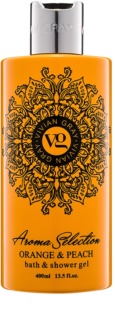 Vivian Gray Aroma Selection Orange & Peach Shower And Bath Gel