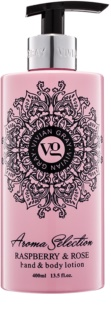 Vivian Gray Aroma Selection Raspberry & Rose Hand and Body Lotion