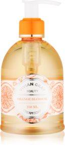 Vivian Gray Naturals Orange Blossom sabão liquido cremoso