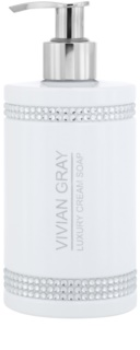 Vivian Gray Crystals White Creamy Soap