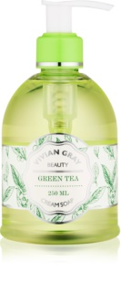 Vivian Gray Naturals Green Tea krémové tekuté mýdlo