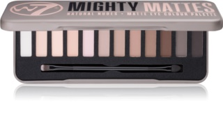 W7 Cosmetics Mighty Mattes paleta de sombras de ojos