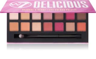 W7 Cosmetics Delicious Palette mit Lidschatten