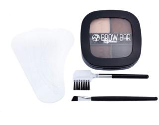 W7 Cosmetics Brow Bar Set voor Perfecte Wenkbrauwen