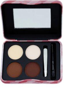 W7 Cosmetics Brow Parlour Set voor Perfecte Wenkbrauwen