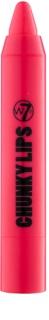 W7 Cosmetics Chunky Lips bálsamo de lábios hidratante e cremoso
