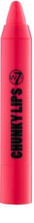 W7 Cosmetics Chunky Lips cremiger hydratisierender Lippenstift