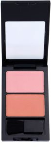 W7 Cosmetics Duo Blusher blush cu pensula