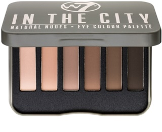 W7 Cosmetics In the City paleta de sombras