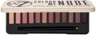 W7 Cosmetics In the Nude Eye Shadow Palette With Applicator